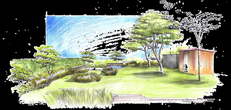 Nullkommaneun gute ideen auf papier bringen - Garten zeichnen ...