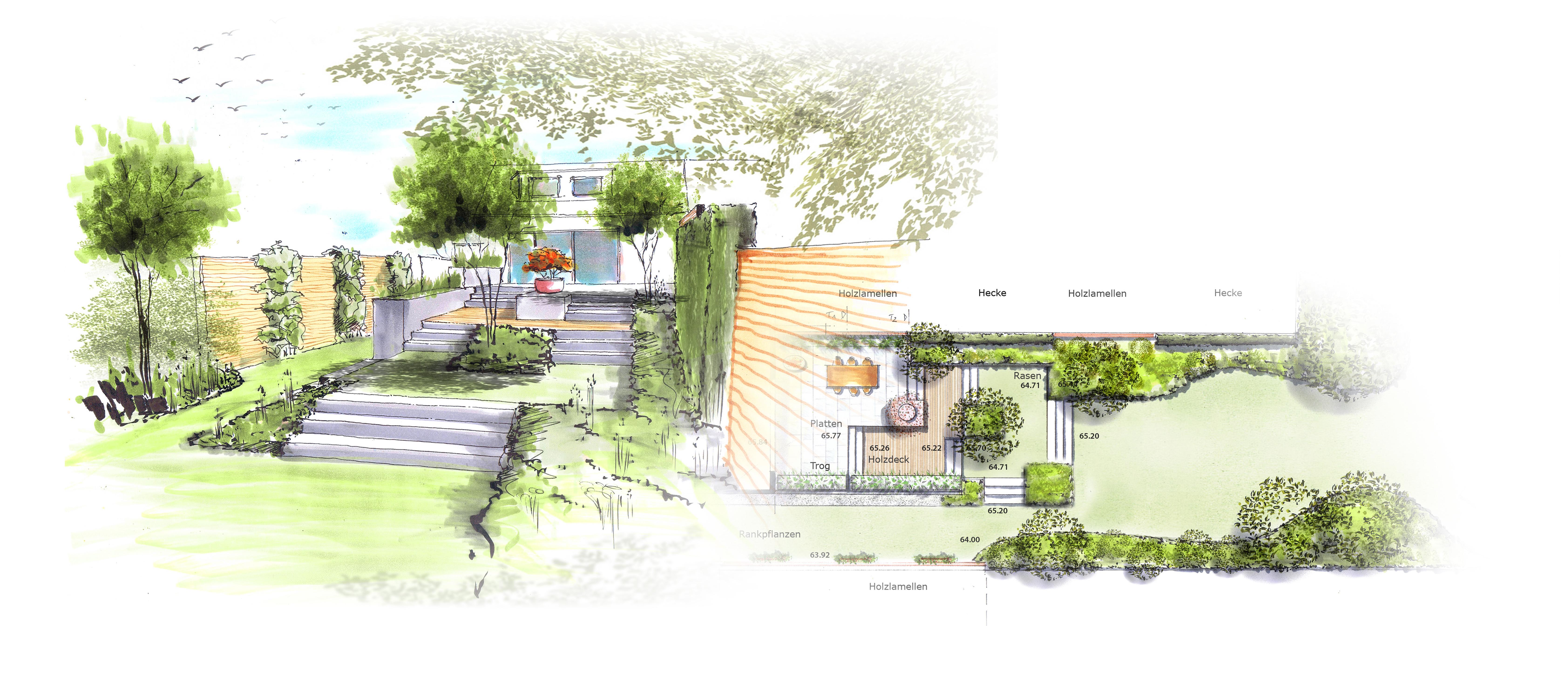 Garten zeichnen for Gartengestaltung zeichnung